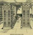 Библиотечный стеллаж Ангуса Макдональда