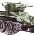 Легкий танк БТ-5