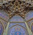 Потолки мечети Насир аль Мульк