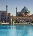 Потолки мечети Имама в Иране